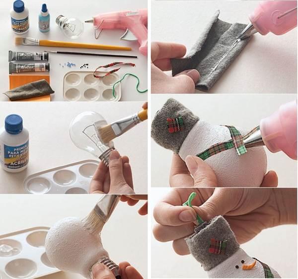 как сделать елочную игрушку