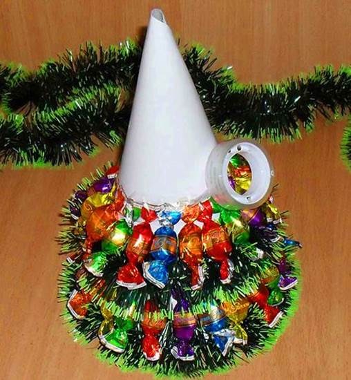 Новогодняя елочка поделка