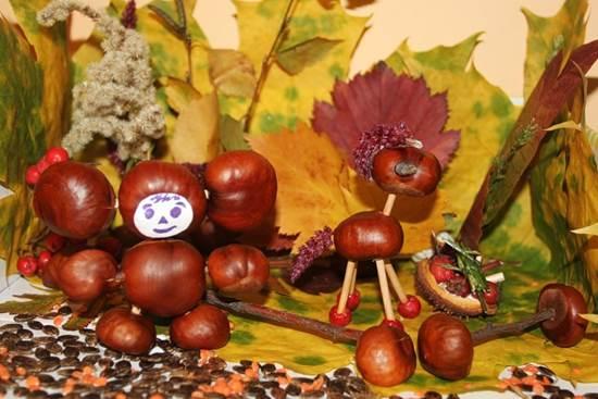 поделки своими руками на тему осень