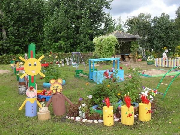 веранды для детского сада, поделки в детский сад на участок