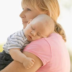 Укачивание ребенка перед сном