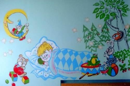 рисунки для детской спальни
