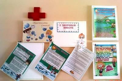 информация для уголка здоровья в детском саду