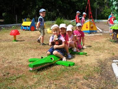 участки детских садов