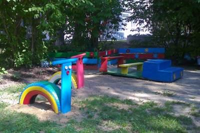 украшение веранды в детском саду