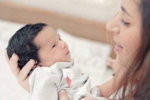 волосы у новорожденных, волосы новорожденного