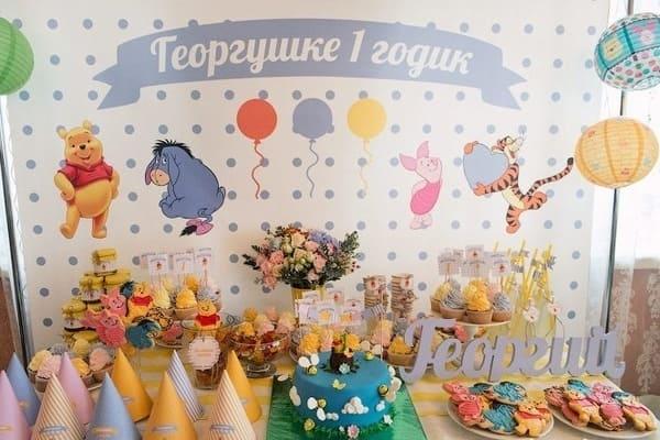 candy bar на детский день рождения