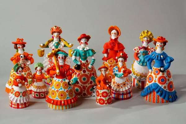 дымковская игрушка рассказ для детей