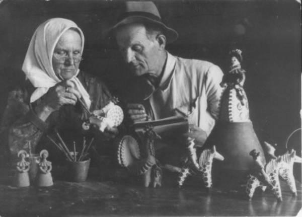 изготовление дымковской игрушки