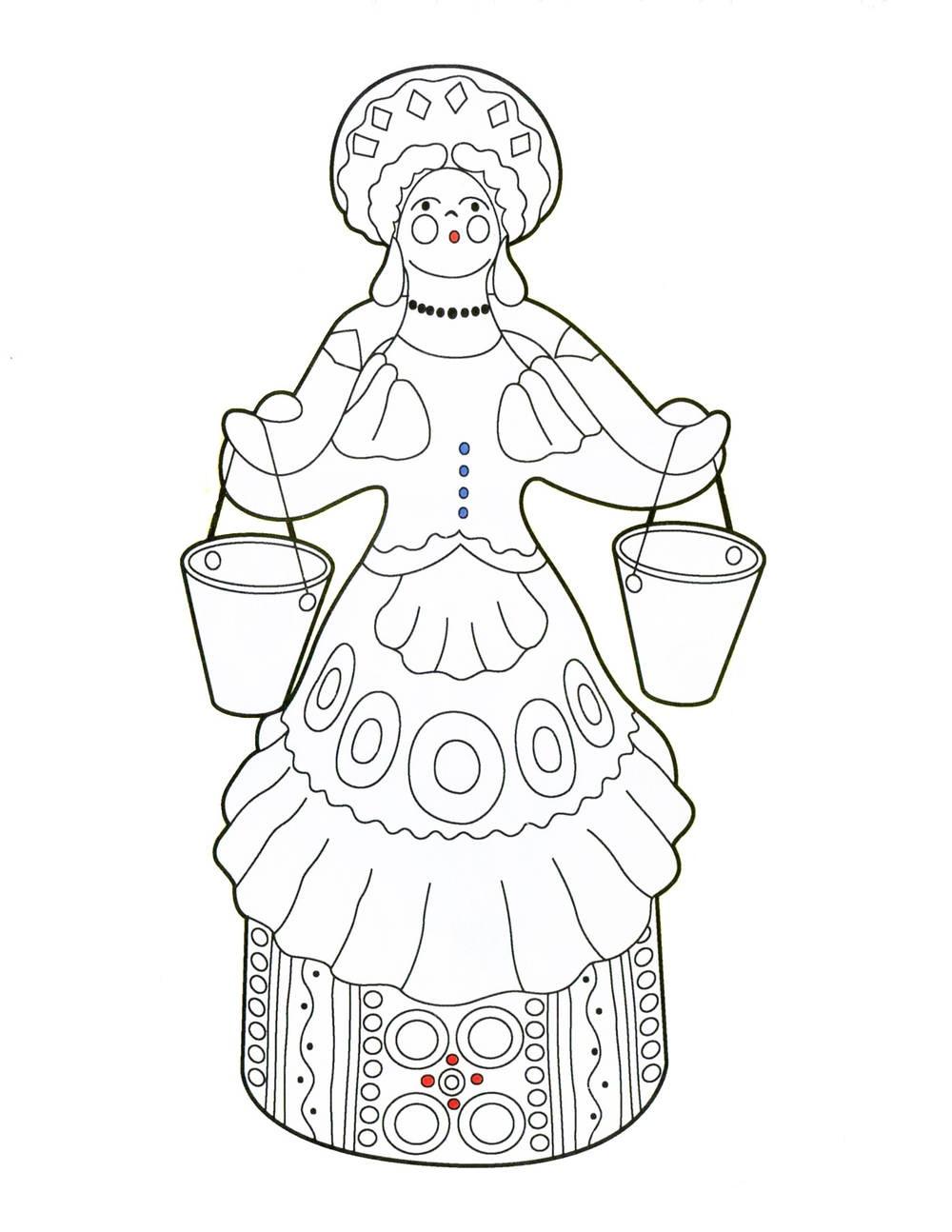 Дымковская игрушка (рассказ для детей и не только)