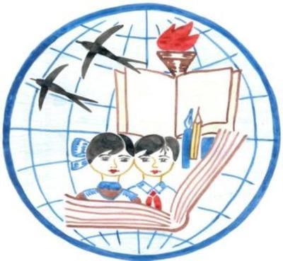 герб школы рисунки