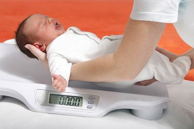 Рост и вес малыша по месяцам