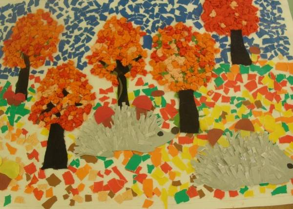 поделки из бумаги на тему осень