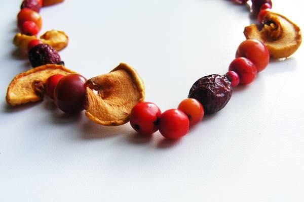 осенние поделки своими руками для детей из ягод