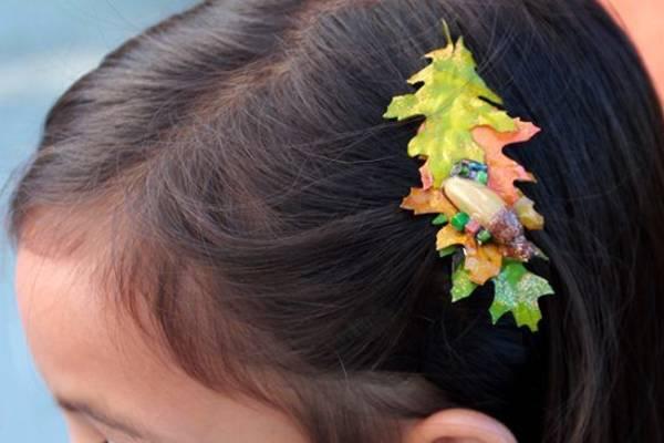 подделки на тему осень своими руками из листьев