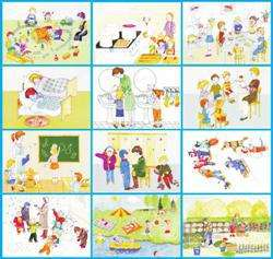Уголок здоровья в детском саду шаблоны