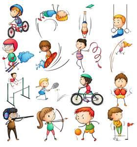 Картинки о физкультуре и спорте для детей