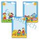 Фоны-шаблоны для оформления стендов в детском саду