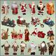Клипарт для фотошопа - Дед Морозы и Санта Клаусы для новогод...
