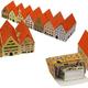 Оформление уголков в детском саду Домики из бумаги