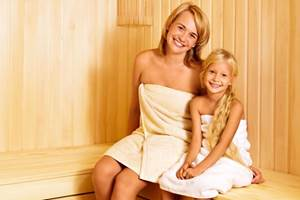 баня для детей, семейная баня с детьми