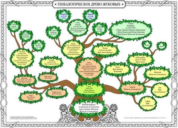 родовое дерево схема, семейное древо онлайн создать бесплатно