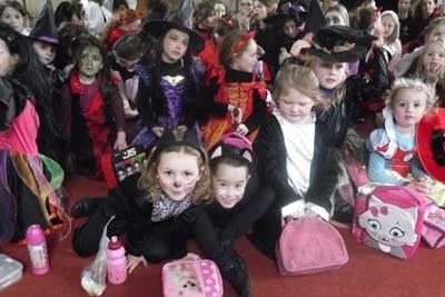 вечеринка, развлечения на хэллоуин