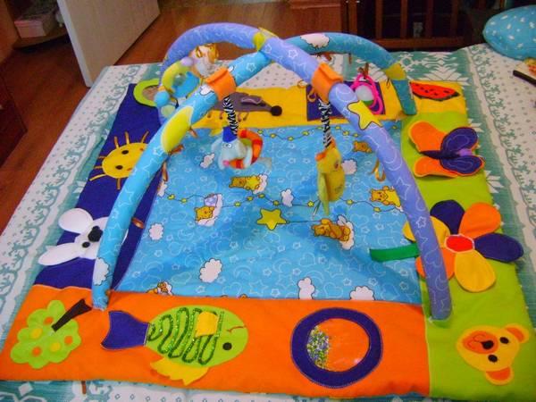 детские развивающие коврики своими руками