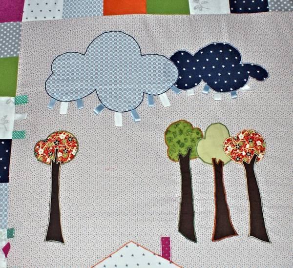развивающие коврики для детей своими руками
