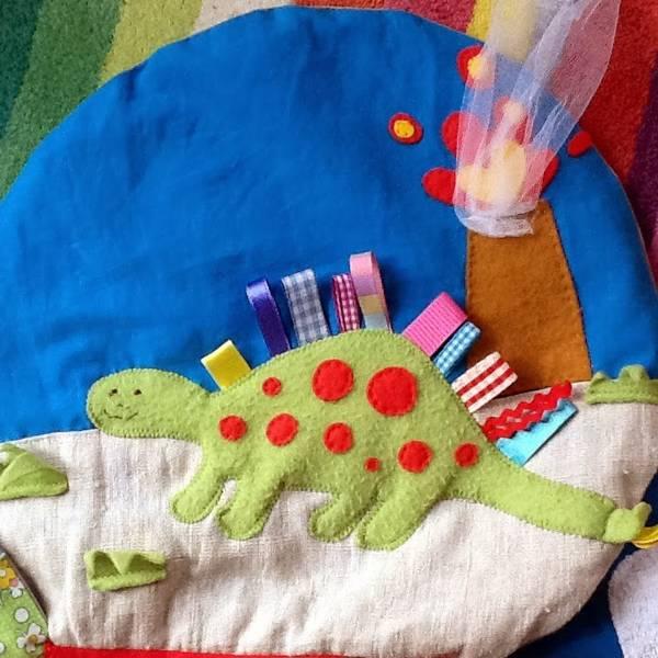 развивающий коврик для новорожденных своими руками