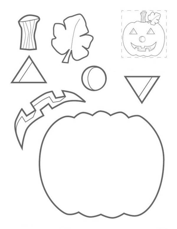 шаблоны на хэллоуин из бумаги