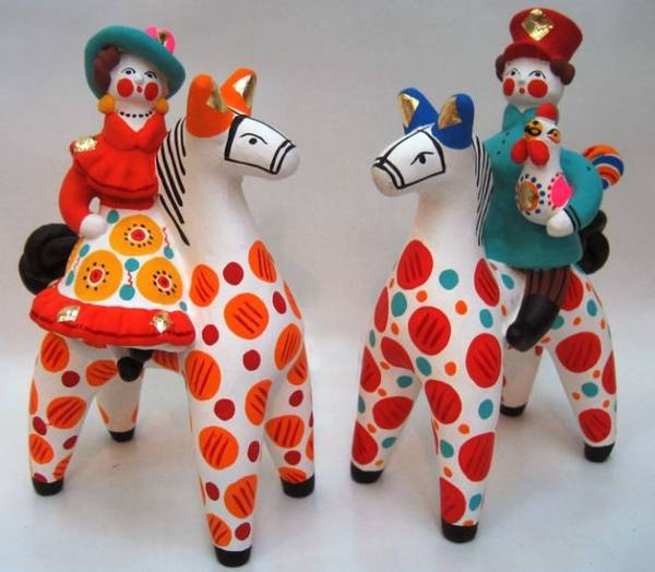Дымковская глиняная игрушка доклад 6047