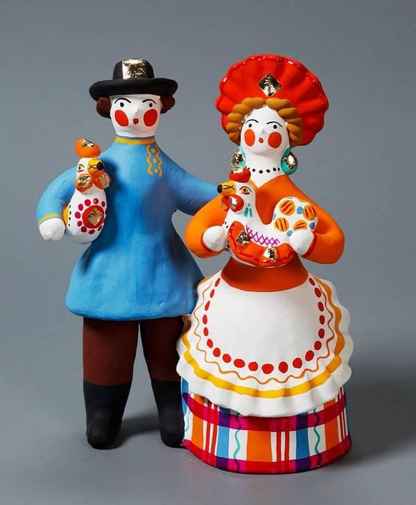 Дымковская игрушка история доклад 9741