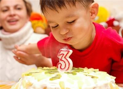 конкурсы на день рождения 3 года