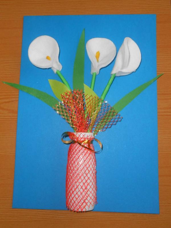 Картинка, открытки ко дню матери с детьми 2-3